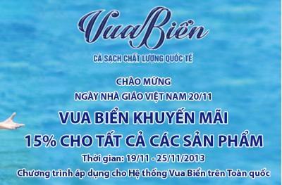 Khuyến Mãi Chào Mừng Ngày Nhà Giáo Việt Nam