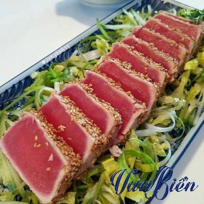 Salad Tataki Cá Ngừ