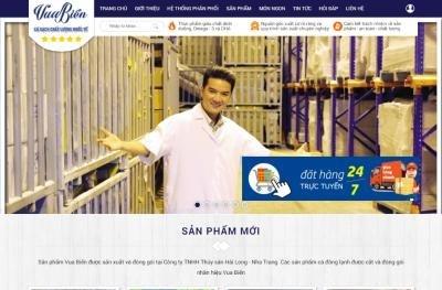 Vua Biển Ra Mắt Website Bán Hàng Trực Tuyến