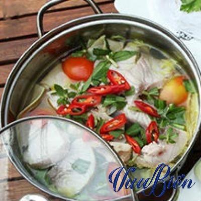 Lẩu Cờ Gòn Nấu Măng Chua