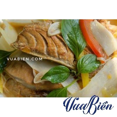 Canh Măng Chua Lườn Cá Ngừ